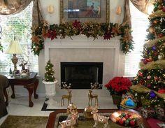 Natal: Sala com decoração de Natal