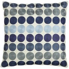 Blue Dots Pillow - Pier 1 - using in my living room now.now what color to paint the walls? Accent Pillows, Throw Pillows, Pillow Room, Pillow Talk, Modern Rustic Homes, My Living Room, Home Decor Accessories, Indigo Blue, Decorative Pillows