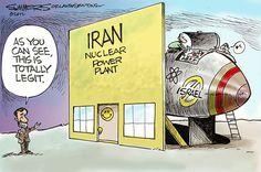 Iran Political Cartoons
