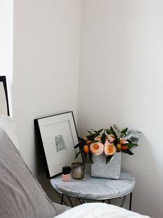 i would love a marble side table. know of any good ones?