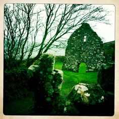 St.Declan's Holy Well, Ardmore, Ireland.