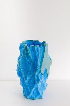 Synthetic Mimetic by Michal Fargo #foam #vessels #sculpture #design