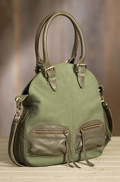 Overland Nicole Suede Crossbody Handbag | Overland