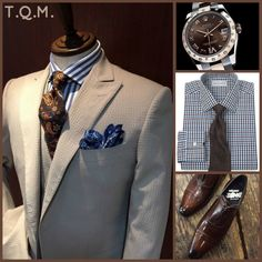 SUNDAY/SPECIAL OCCASION STYLE Azabu Tailors(Suit)-Rolex(Watch)-Paul Fredrick(Shirt Tie Option)-Gerard Sene(Shoes)