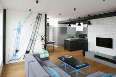 Szary salon: 20 pięknych wnętrz  - zdjęcie numer 4