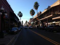 Ybor City in Tampa, FL