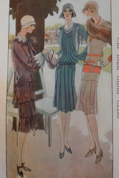 At the Races, Woman's Journal, 1927 Art Deco Fashion, Retro Fashion, Vintage Fashion, 20s Outfits, Vintage Outfits, Roaring 20s Fashion, 1920s Looks, Vintage Ball Gowns, Glamour Ladies