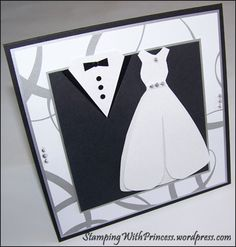 groom and bride symbolic wall art (meant for an invitation but I would like to make this and put in a frame)