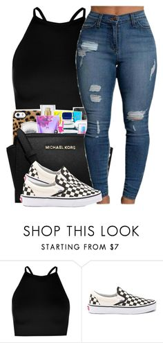 """""""*11:13pm*"""" by hoodxprincess ❤ liked on Polyvore featuring Boohoo and Vans"""