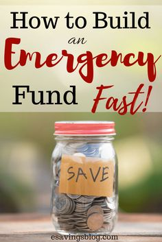 Need to build an emergency fund fast? Check out these tips on finding money to build your emergency fund of at least $1000 to start!