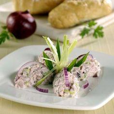 Sonkakrém lila- és zöldhagymával Recept képpel - Mindmegette.hu - Receptek