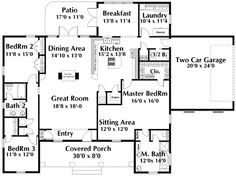 44 Best Dual Master Suites House Plans Images On Pinterest Country