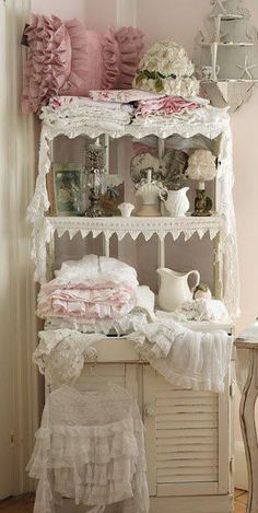 love this cupboard display for our dream emporium