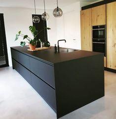 Trendy Home Desng Diy Kitchen Designs 59 Ideas Kitchen Dinning, Kitchen On A Budget, Diy Kitchen, Kitchen Interior, Rustic Kitchen Design, Kitchen Designs, Handleless Kitchen, Kitchen Worktops, Modern Farmhouse Bathroom