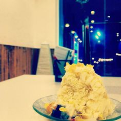 Durian Snow Ice  - @shanice_ang- #webstagram