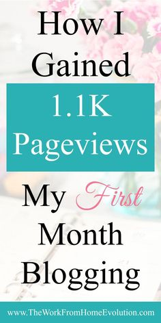 I am in my first month blogging and have already gained over 1.1K pageviews all because of this pinterest strategy! If you are having trouble gaining traction from your Pinterest Pins, give this a try. I'm sure you'll find it as helpful as I have! (affili