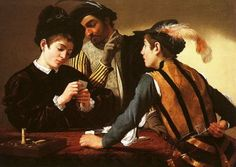 Cardplayers by Caravaggio 1.595