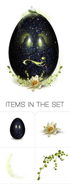 """""""Decorate an Egg Contest * Scrap Happens*"""" by lailagasholt ❤ liked on Polyvore featuring картины"""