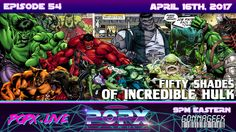 We dive into all things The Incredible Hulk as Team POPX's uncovers over 54 years of the Jade Giant, and the many forms of Hulk throughout Marvel Comics over. Geek Culture, Pop Culture, Bruce Banner, Incredible Hulk, Fifty Shades, Over The Years, Science Fiction, Marvel Comics, The Incredibles