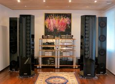 Wizard High-End Audio Blog: Setup: Genesis 2.2 speakers with Krell