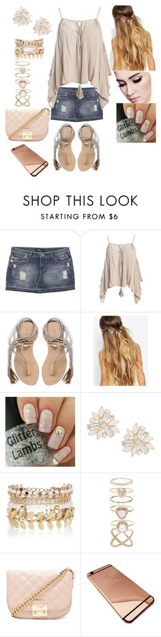 """""""Untitled #726"""" by imani-loves-1d ❤ liked on Polyvore featuring Wet Seal, Sans Souci, L*Space, Johnny Loves Rosie, Cara, River Island, Accessorize and Forever 21"""