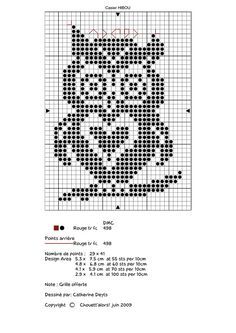31 Ideas knitting charts owl filet crochet 31 Ideas knitting charts owl filet crochet Always aspired to figure out how to knit, yet unclear wher. Cross Stitch Owl, Cross Stitch Animals, Cross Stitch Charts, Cross Stitch Designs, Cross Stitching, Cross Stitch Embroidery, Cross Stitch Patterns, Filet Crochet Charts, Afghan Crochet Patterns