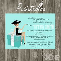 476 best baby showers ideals images on pinterest tiffany baby printable tiffany co inspired bridal shower by lovinglymine 1500 maxwellsz