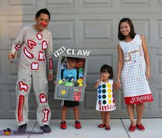 Games Family Costume - 2015 Halloween Costume Contest