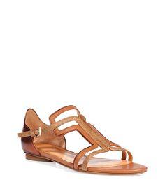 Copper and Antique Bronze Combo Flats - Edmundo Castillo #Stylish #Shoes