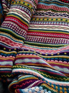 Crochet Afghan Patterns Skittles Crochet Blanket Pattern Is A Stunner Crochet Afghans, Afghan Crochet Patterns, Knit Or Crochet, Crochet Crafts, Crochet Baby, Crochet Projects, Blanket Crochet, Crotchet, Ravelry Crochet