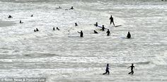 cold british summer at the sea - Google Search