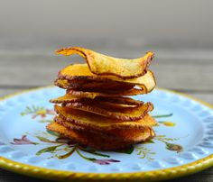 15 minutes and 3 ingredients for these homemade potato chips.