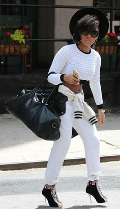 Janelle Monae in NYC May 1