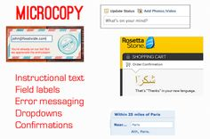 Great article on writing copy from a UX perspective.