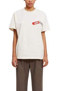 Jacquemus White 'le T-shirt Collectionneuse' T-shirt Opening Ceremony, White Tees, Size Model, World Of Fashion, Polo Ralph Lauren, Short Sleeves, Mens Tops, How To Wear, T Shirt