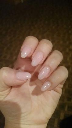 Natural with gliz Natural, Nails, Painting, Beauty, Finger Nails, Ongles, Painting Art, Paintings, Nail