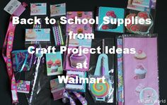 Back to School Supplies for students available @Walmart Official for $0.88 each!