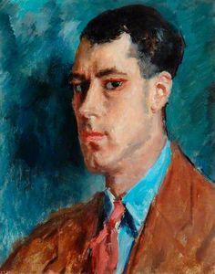 'Sir Caspar John', by British Artist Augustus Edwin John, (1878-1961)