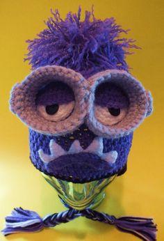 Minion Monster Inspired Hat Pattern - via @Craftsy