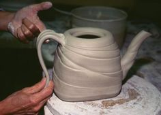 How to Make a Lively Thrown and Altered Teapot on the Pottery Wheel