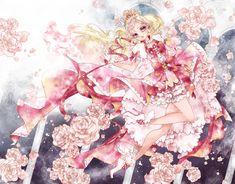 Tags: Fanart, Pixiv, Fanart From Pixiv, Pixiv Id 4055359, Go! Princess Precure, Haruno Haruka, Cure Flora