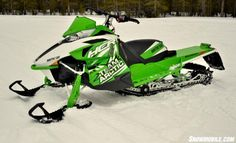 arctic cat snowmobiles | ... wide-spaced A-arms makes the M8000 HCR a bold-statement snowmobile