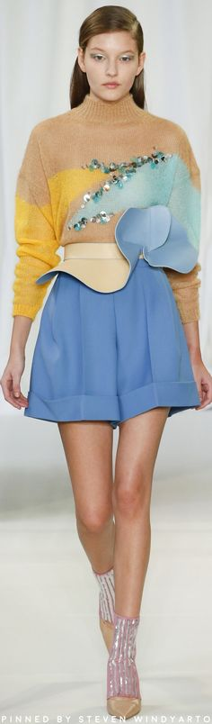 Delpozo Fall Winter 2018 Fashion Show #fall2018 #fw18 #womenswear