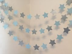 Twinkle twinkle Little Star Birthday Decorations -Blue & Silver Baby shower Decor- Baby Boy Banner- 10 foot Star Garland- Custom colors - Name Baby Boy - Ideas of Name Baby Boy - Christening Decorations, Baby Boy Decorations, Birthday Decorations, Baby Boy Banner, Its A Boy Banner, Star Baby Showers, Baby Boy Shower, Twinkle Twinkle Little Star Birthday, Ideas Bautismo