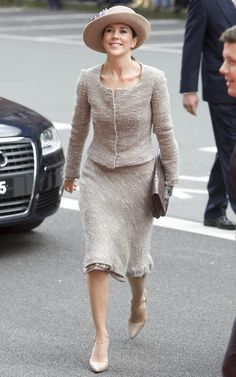 As Crown Princess Mary of Denmark turns revisit her most stylish looks to date Princess Marie Of Denmark, Princess Caroline, Crown Princess Mary, Princesa Mary, Royal Fashion, Look Fashion, Mary Donaldson, Denmark Fashion, Danish Royalty