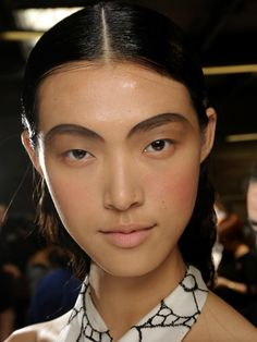 Thakoon S/S '13: http://beautyeditor.ca/2012/09/14/new-york-ss-13-brows-are-just-getting-stronger-and-fuller-and-darker-have-you-grown-out-yours-yet/