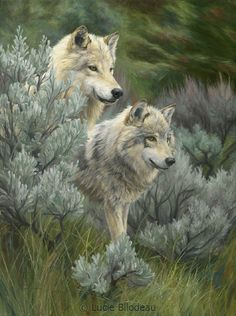 """""""On the Lookout"""", oil on canvas, 32"""" x 24"""", by Lucie Bilodeau."""