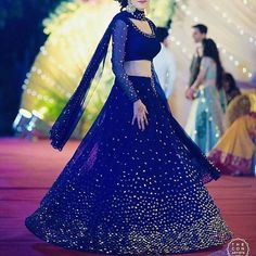 Heavy hand made Mukesh & pearls work Lehenga.For this lehenga mailus at contact@ladyselection.com