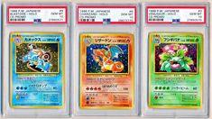 (3) 1998 Pokemon Japanese CD Venusaur Blastoise Charizard Holo Lot PSA 10 - QTY Collectible Cards, Charizard, Card Games, Hobbies, Japanese, Toys, Ebay, Activity Toys, Japanese Language