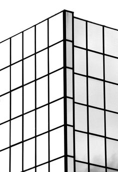 Graphic Minimalism - high contrast grid patterns in architecture #bw @blackwhitepins